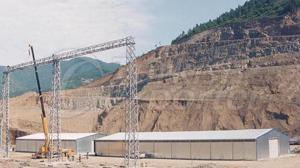 Pre-Engineered Steel Construction Warehouses / Depo-Hangar