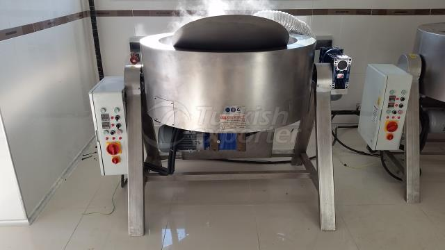 cooking vat with electric