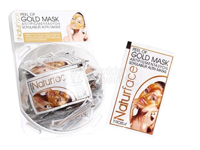 Peelable Gold Mask Disposable 15 g X 60 Units