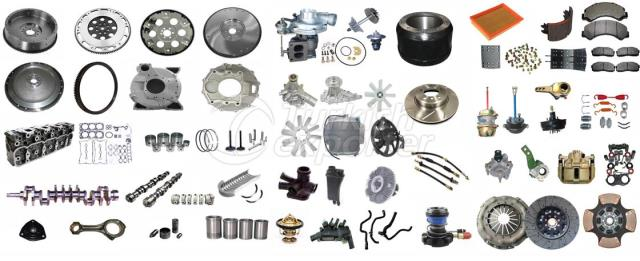 SPARE PARTS FOR TRACTOR/TRUCK