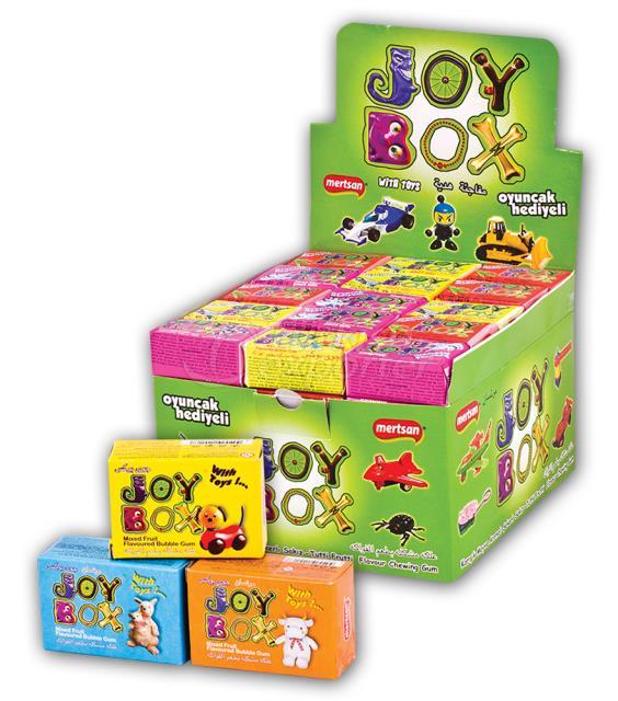 Joy Box Gum with Toy