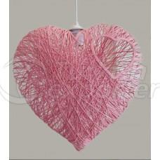 Heart Chandelier
