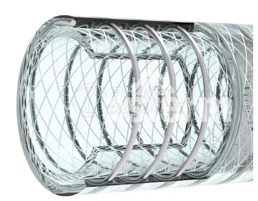Pvc Hose With Steel Spiral and Yarn
