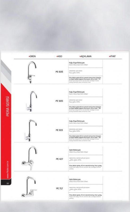 Mixer and Faucet