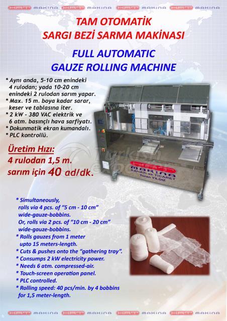 GAUZE ROLLING MACHINE