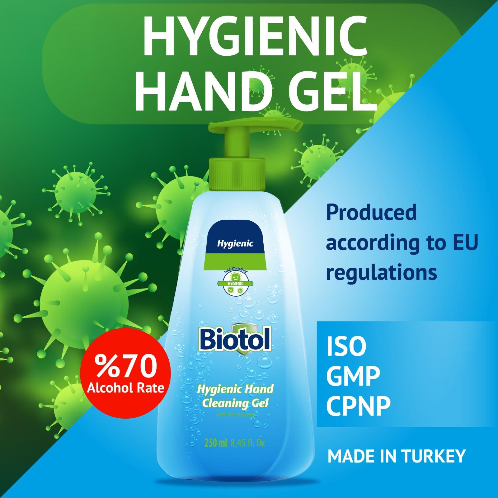 El Dezenfektanı Biotol 250 ml