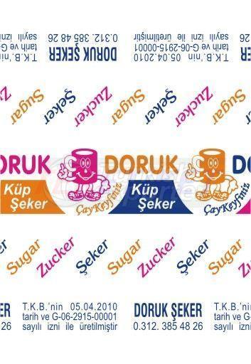 Cube Sugar Package Doruk