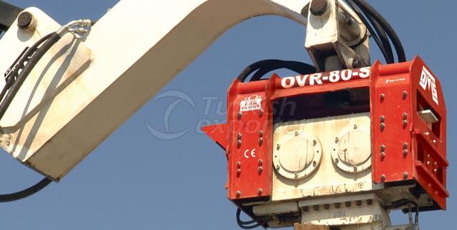 Excavator Mounted Vibro Hammer
