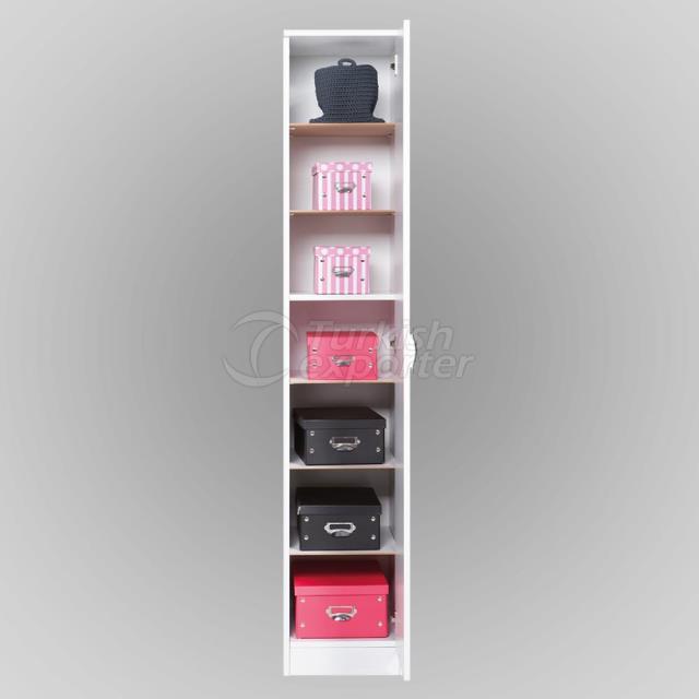 Gabinete de zapato de 7 estantes