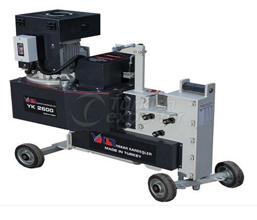 YK 2600 Hydraulic Iron Cutting Machine