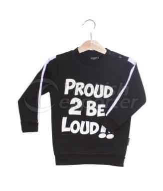 Proud 2BE Loud Çocuk Süveteri