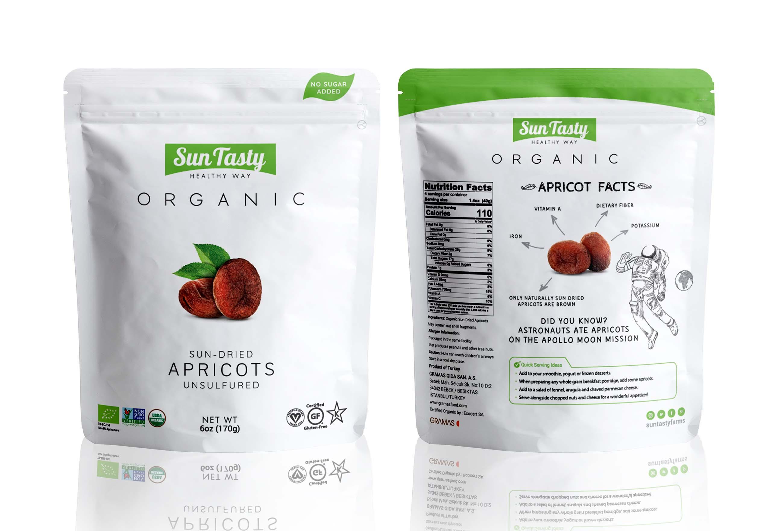 SunTasty Organic Apricot