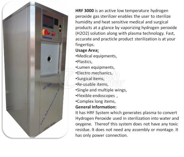 HRF3000 Hydrogen Plasma Sterilizer
