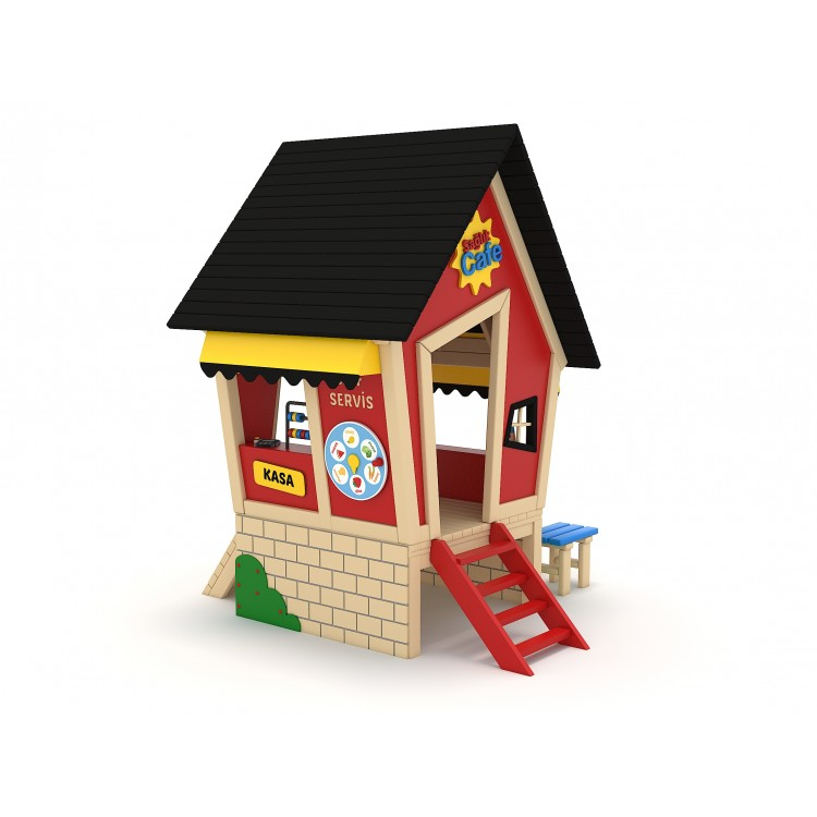 42 A House Themed Playground