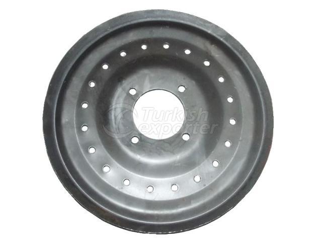 Rake Hub Plate 6504-PT-0002