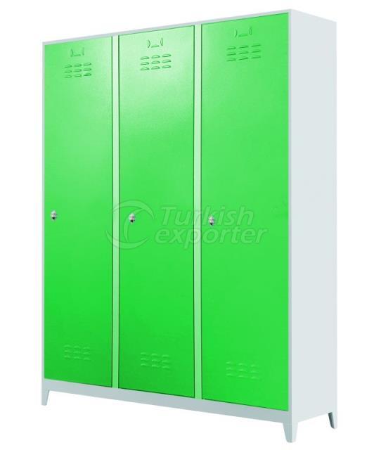 3 Doors Standard Lockers