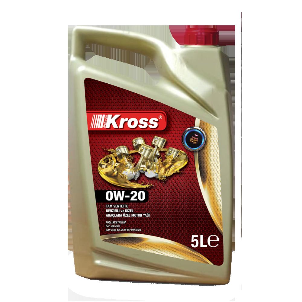Motor Yağı - Kross OW20 5LT