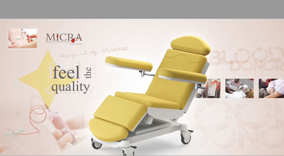 MICRA BLOOD DONOR/TRANSFUSION CHAIR (2 Motors)