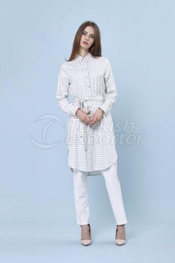 Chemise à carreaux 2219 Vert