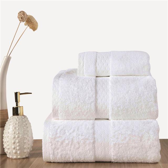 High quality %100 cotton Turkish bath towel set