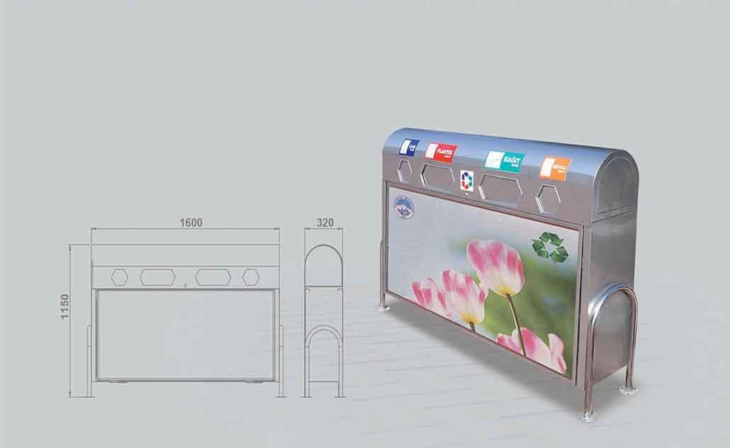 Litter Bin TC-603A