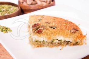 Kunafah - with Creamy, Pistachio and Cheese
