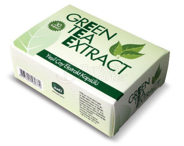كبسولات شاي اخضر