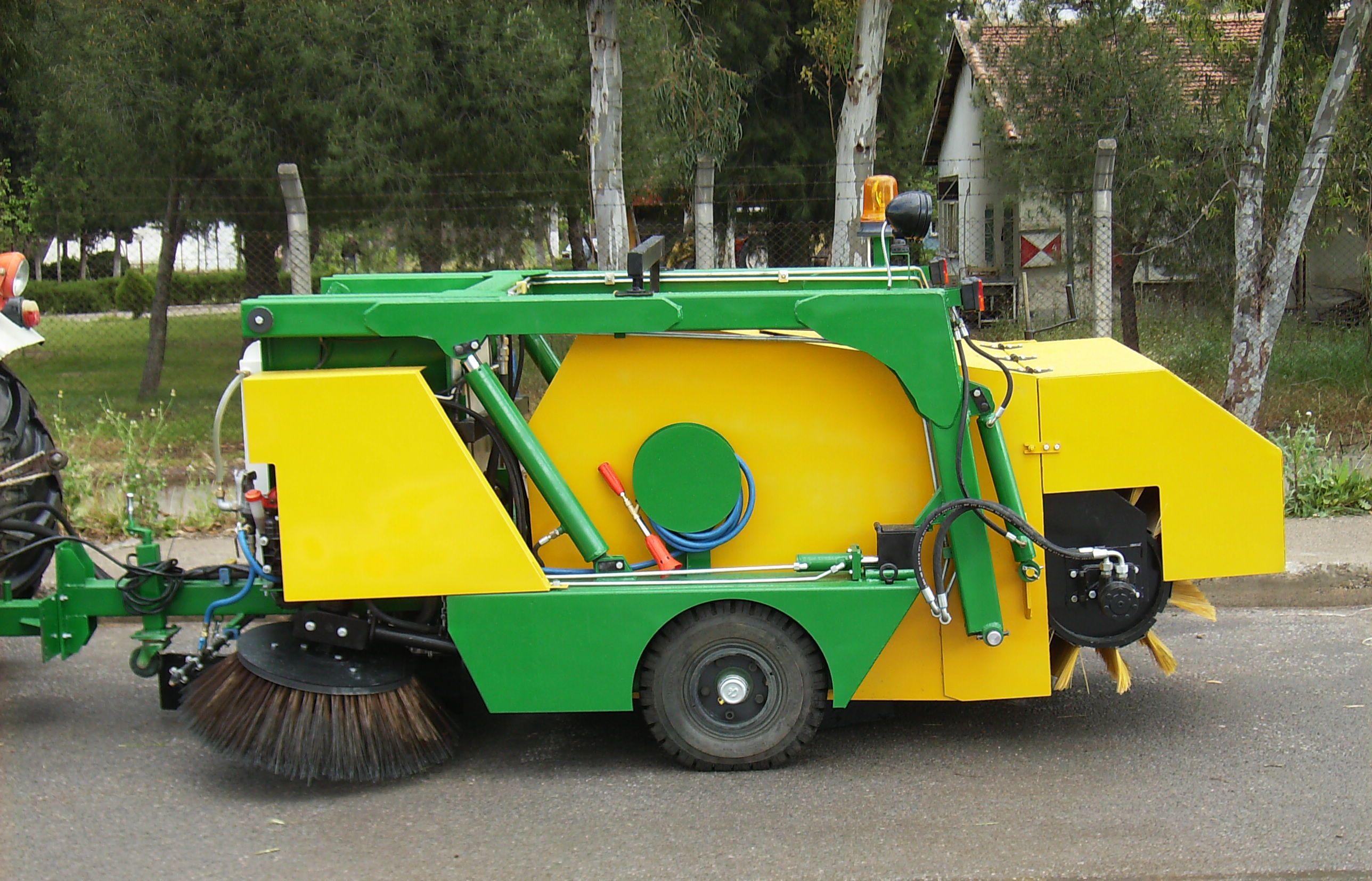 Barredoras de carretera remolcadas con tractor