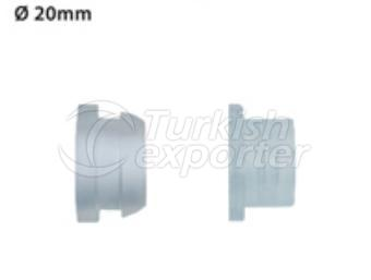 Round Drop Irrigation System Fittings Natural Sealing