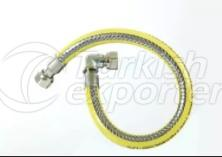 Gas Hose With 90° Elbow