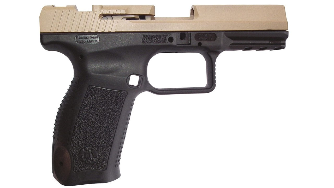 Estrutura da pistola de polímero - 1