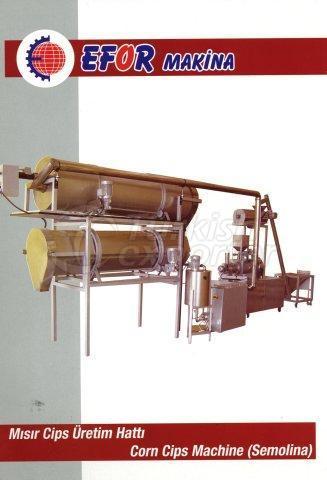 خط انتاج رقاقات الذرة