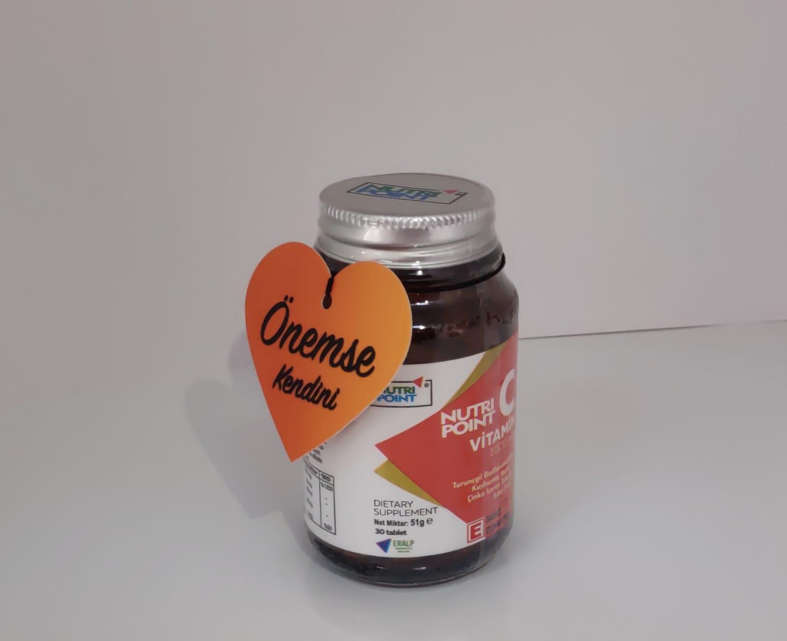 C Vitamins tablets