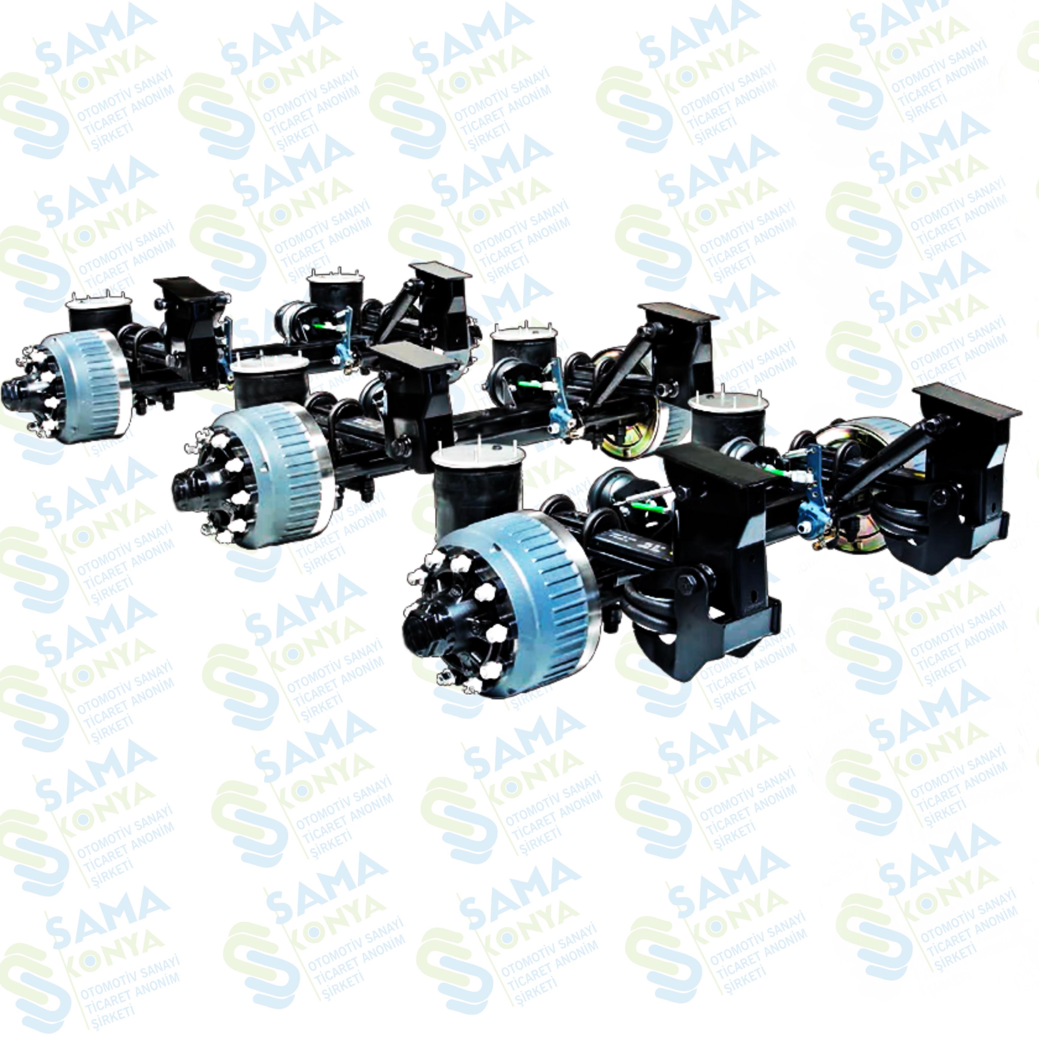 Air Suspension Axle Set