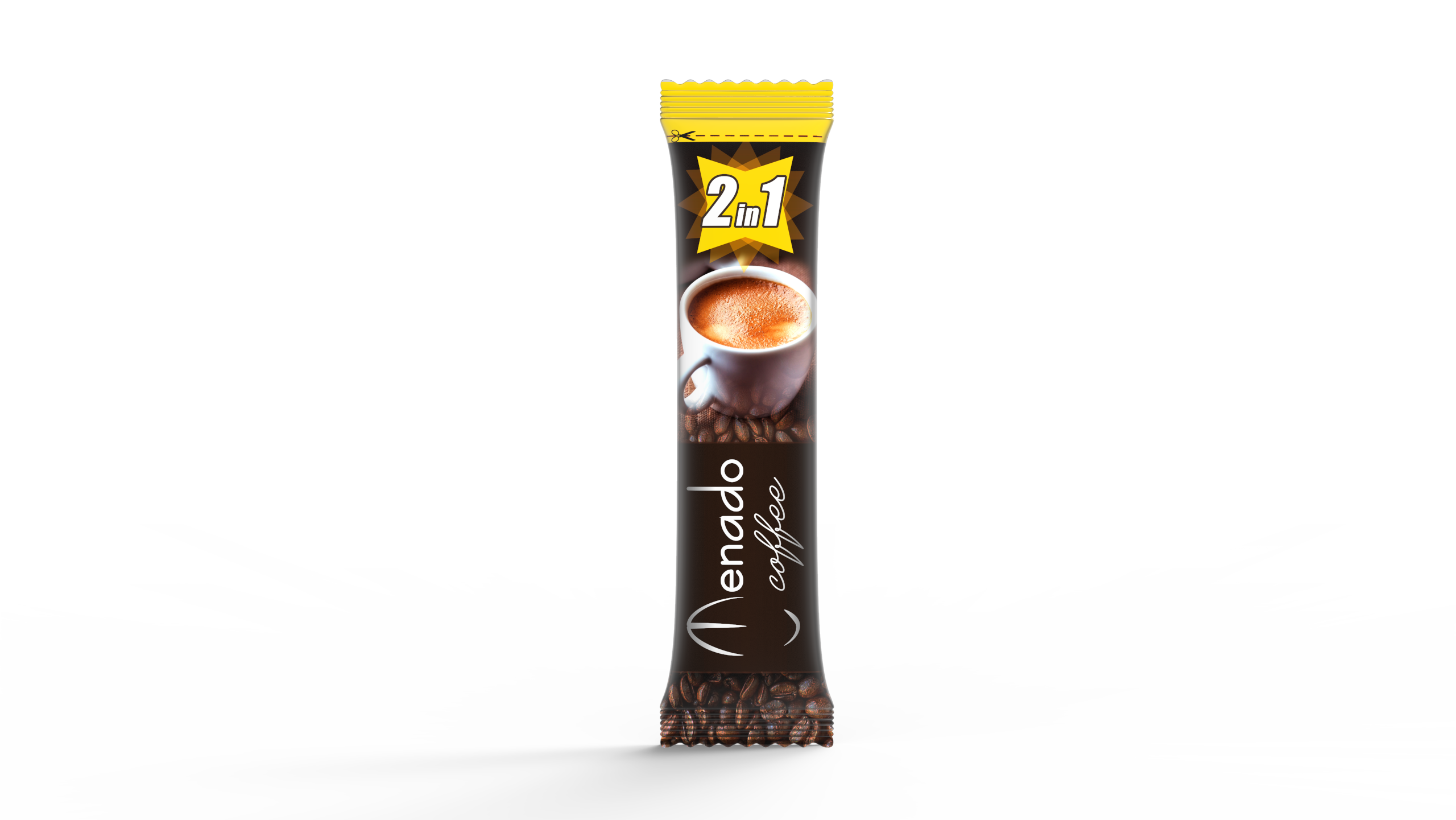 Menado – 2in1 Instant Coffee - 18 gr.