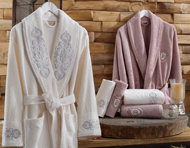 Bathrobe and Towel