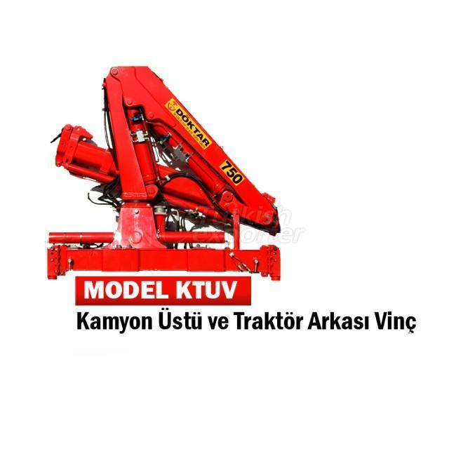 Truck Mounted or Tractor Mounted Hydraulic Crane