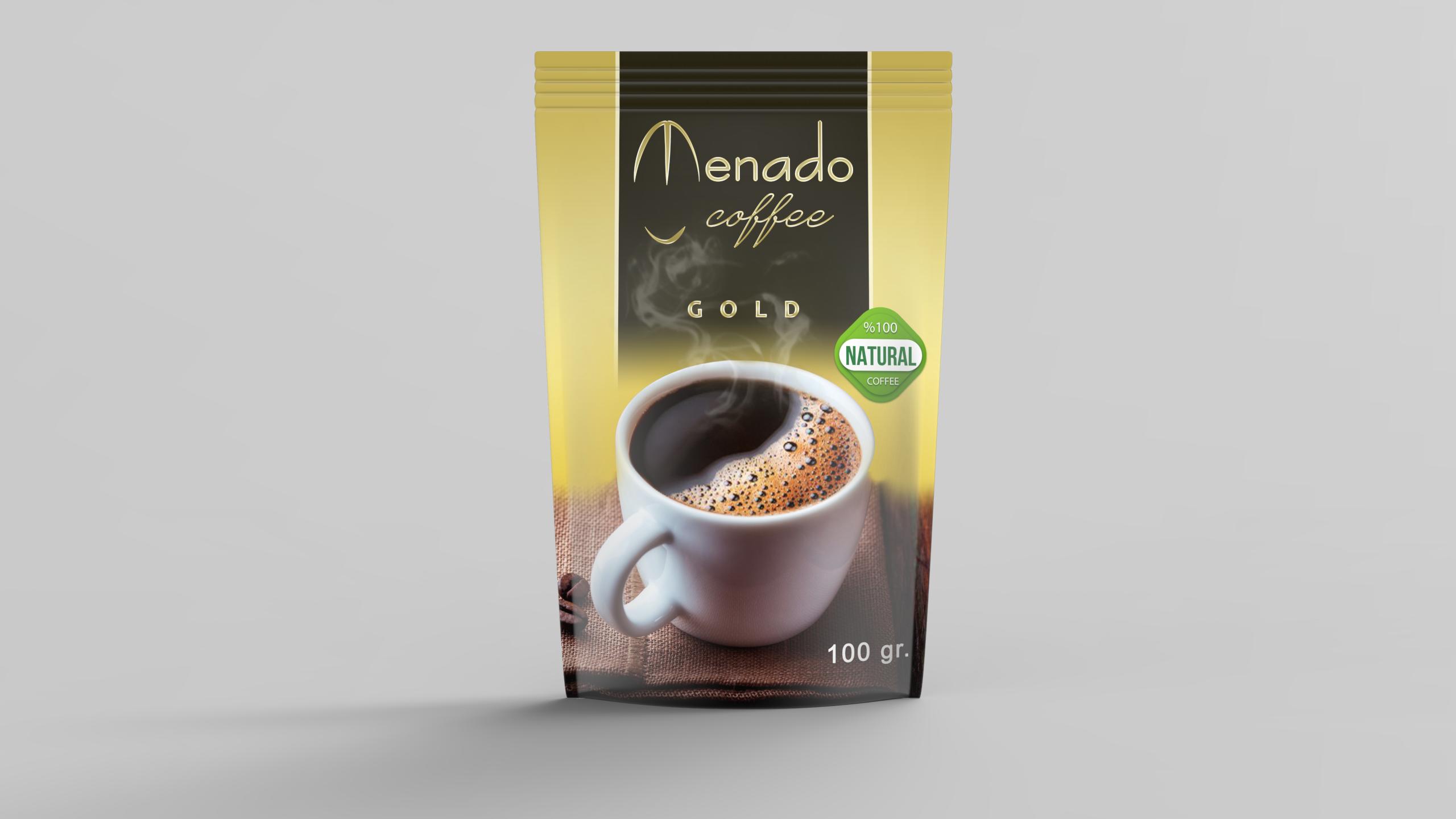 Menado – Instant Coffee Gold - 100gr.