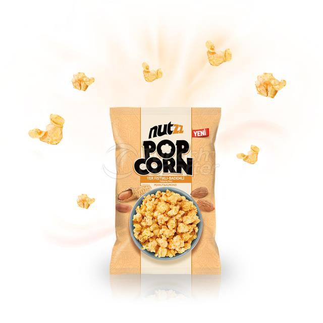 Nutzz Peanut Almond Pop Corn
