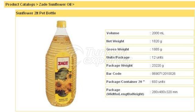 Sunflower 2 lt Pet Bottle