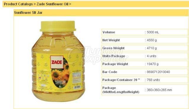Sunflower 5 lt Jar