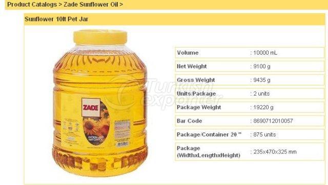 Sunflower 10 lt Pet Jar