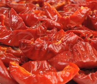 Oven Roasted (Semi Dried) Pasteurized Tomato Peppers