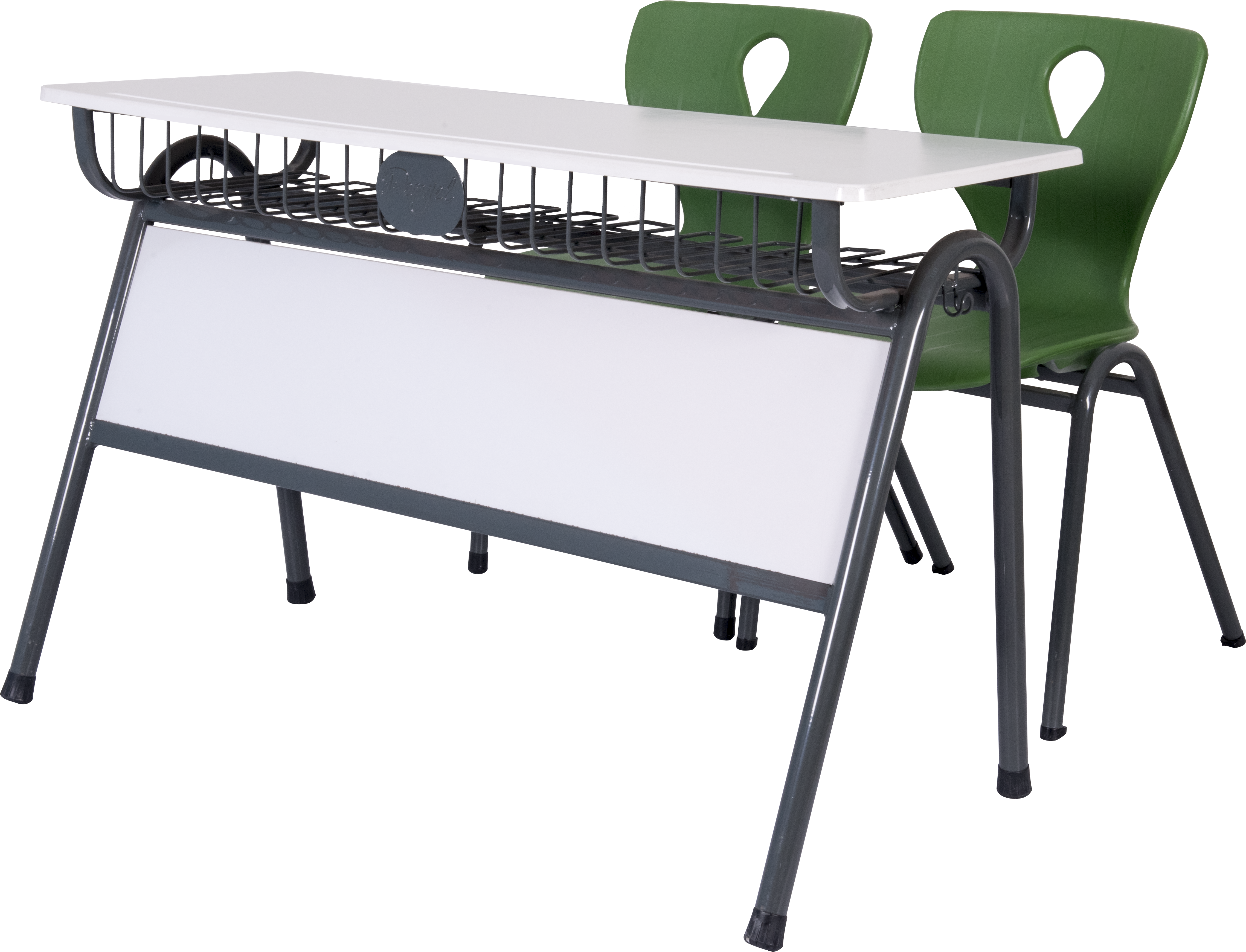 Double School Desk Set