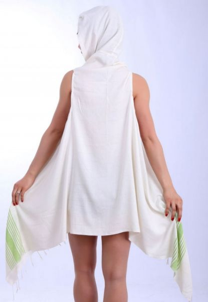 BAMBOO TURKISH BUTTERFLY BEACH DRESS-93
