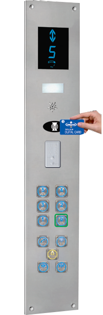 Elevator Button ASB-700-B2
