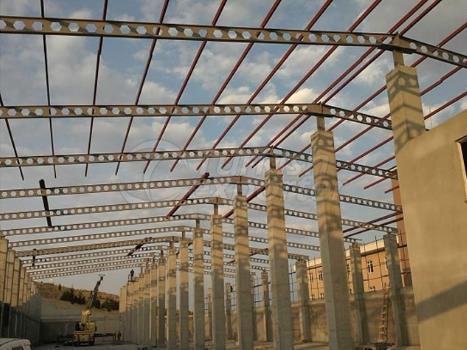 Edificio de construcción de acero