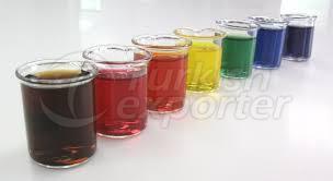Colores de alimentos naturales