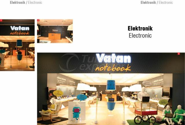 Perakende Mağaza Vatan Electronics