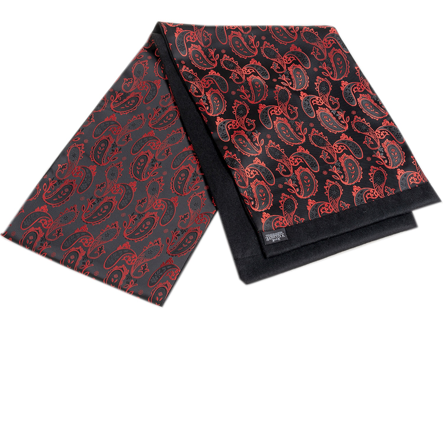 Red Paisley Men Scarf